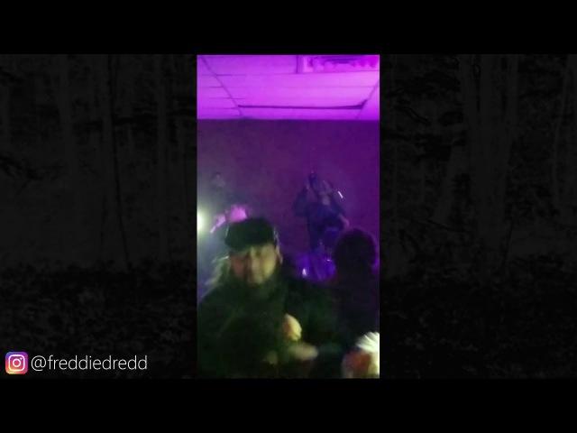 Freddy Dredd 02/24/2018 Dallas, Texas, Instagram Story