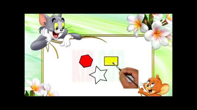 Kid CSB - Hướng dẫn nhận biết hình, biết vẽ, biết tô màu cho bé - Tập vẽ và tô màu với Kid CSB