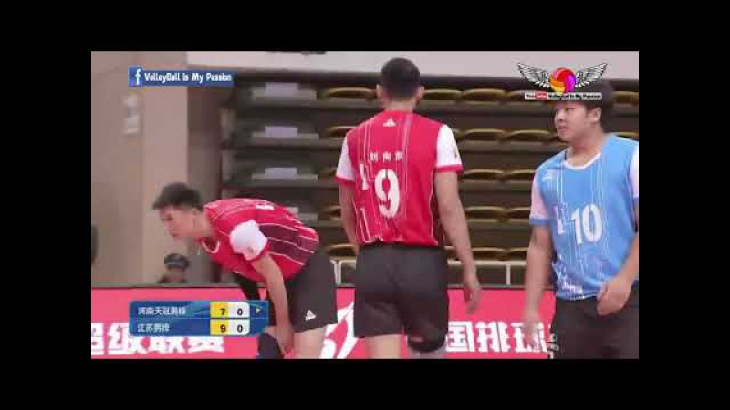 Henan (河南) VS Jiangsu (江苏) | 19-11-2017 | Chinese Men's volleyball super league 2017/2018