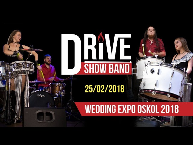 Drive show band Wedding Expo Oskol 2018 RHCP