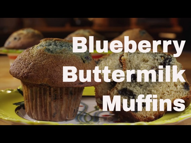 Blueberry Buttermilk Muffins || Le Gourmet TV Recipes