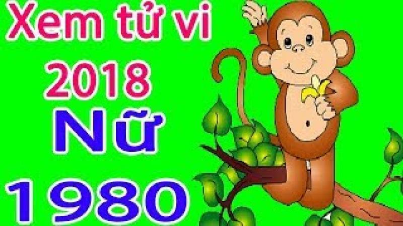 Xem tử vi năm 2018 tuổi canh thân nữ 1980 - Tu vi tuoi canh than 2018 - Phong thủy 2018