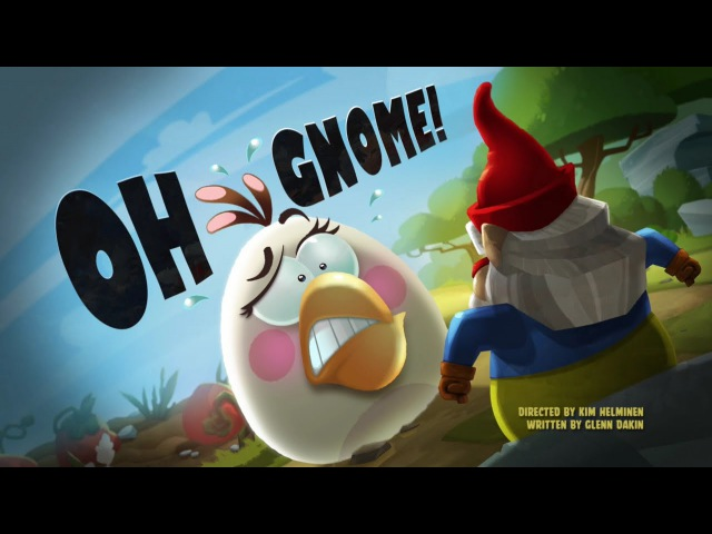 Злые птички - Энгри Бердс -О, гном! (S1E47) || Angry Birds Toons