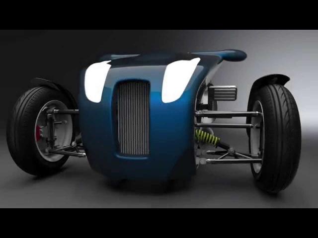Tilt 400 - Three Wheeled Vehicle