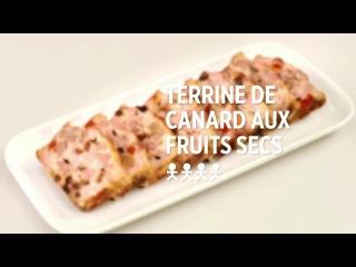 Terrine de canard aux fruits secs - recette #simplissime