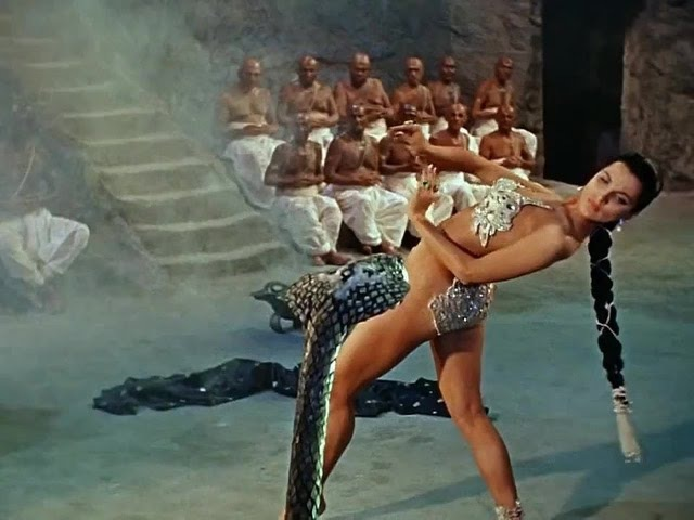 The Indian Tomb Debra Paget Snake Dance Scene - HD Arab Indian type beat (prod Dr.Deni)