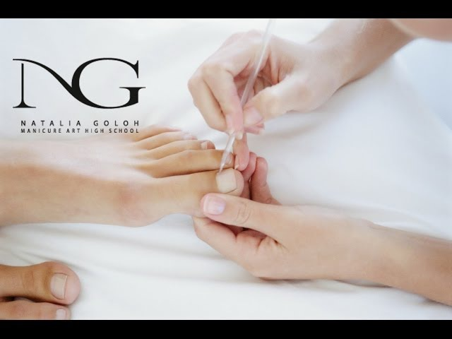 Тампонада вросшего ногтя: классический педикюр. Periscope / Tamponade ingrown nail: classic pedicure