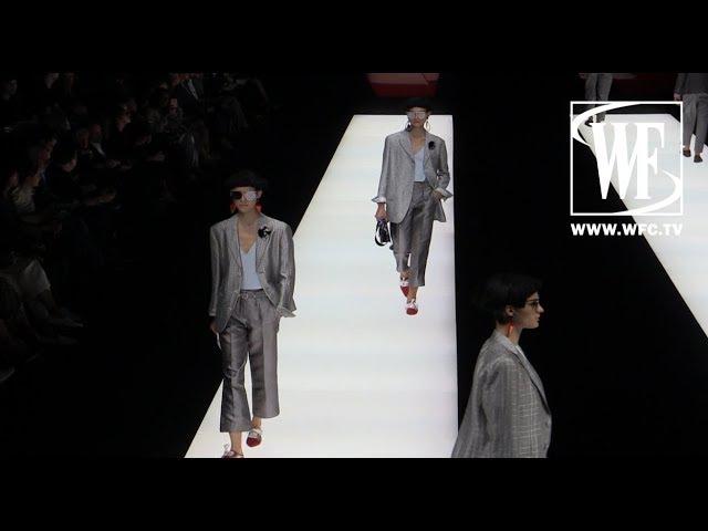 Giorgio Armani Весна/Лето 2018 Неделя Моды в Милане