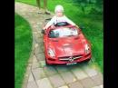 Дочь Игоря Николаева в электромобиле