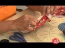 Aprenda a fazer um anjinho de tecido para o natal.