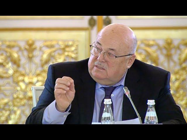 Выступление Александра Калягина на заседании Совета по культуре.