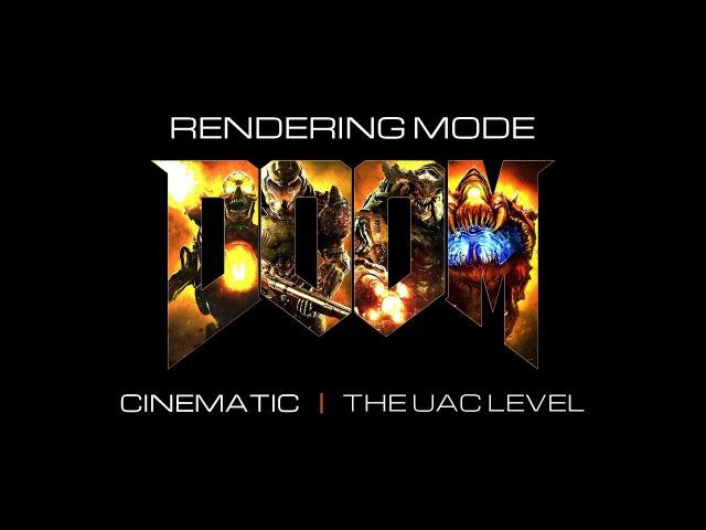 DOOM Cinematic rendering mode | 2K60fps