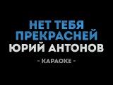 Юрий Антонов - Нет тебя прекрасней (Караоке)