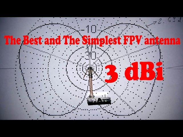 How To Make 5.8 GHz FPV Antenna DIY - 3 dBi
