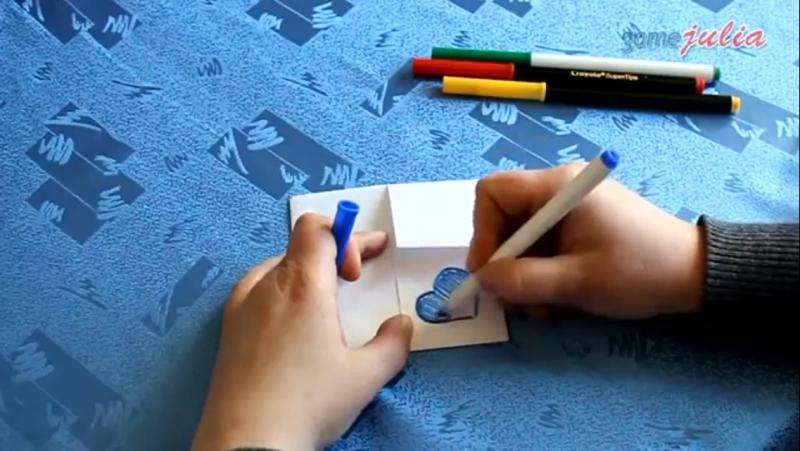 Гадалка из бумаги