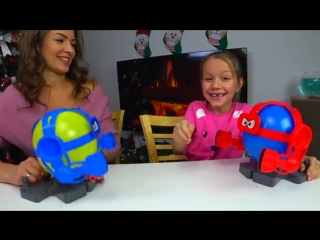 Balloon bot battle челлендж битва взрывных ботов вика против мамы challenge --- ви
