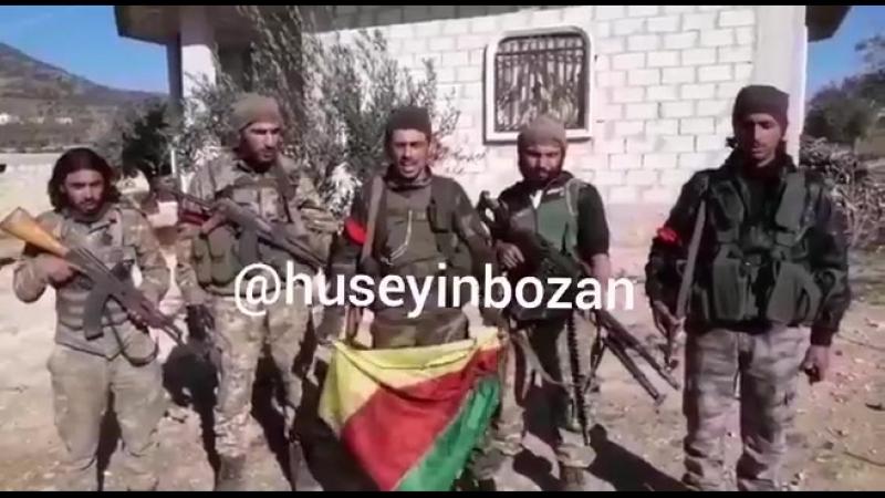 TSK destekli ÖSO birlikleri Afrinin Bülbül kasabasına bağlı Korni köyünü terör örgütü YPGPKKdan ele geçirdiklerini ilan etti
