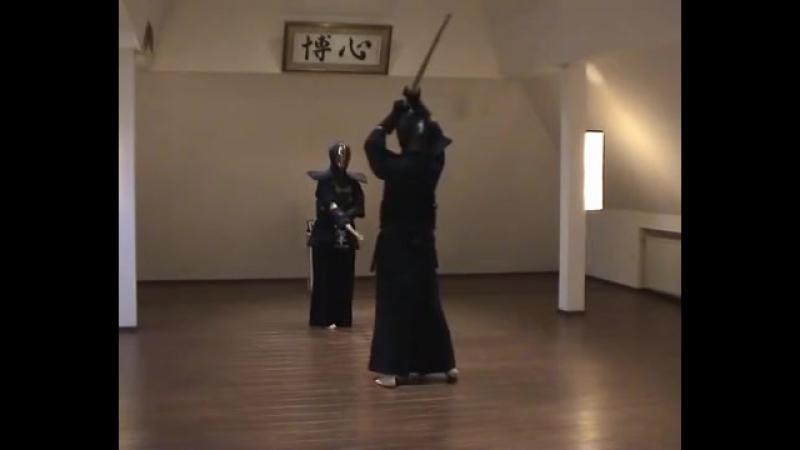 Kendôkyôhon 7 50 Morote Jodan Men