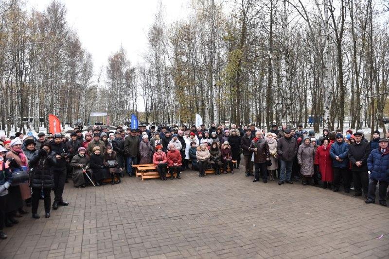 В Ярославле в парке Победы на Липовой горе после реконструкции открыли стелу, посвящённую ВЛКСМ