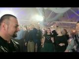 Бушман Леди Гага Медведица и Барни Барфлай))) #топ10вологда #олегбушман #бушманико #nestlerockparty