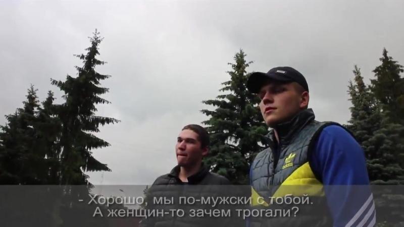 Платные провокаторы на акции против коррупции в Калининграде 12 июня