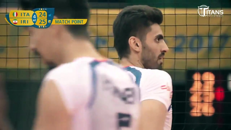 Amir Ghafour - Best Volleyball Moments - Champions Cup 2017