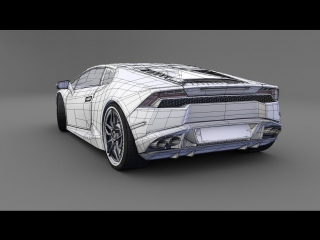 #13 SolidWorks Tutorial - Model a Lamborghini Aventador - HD