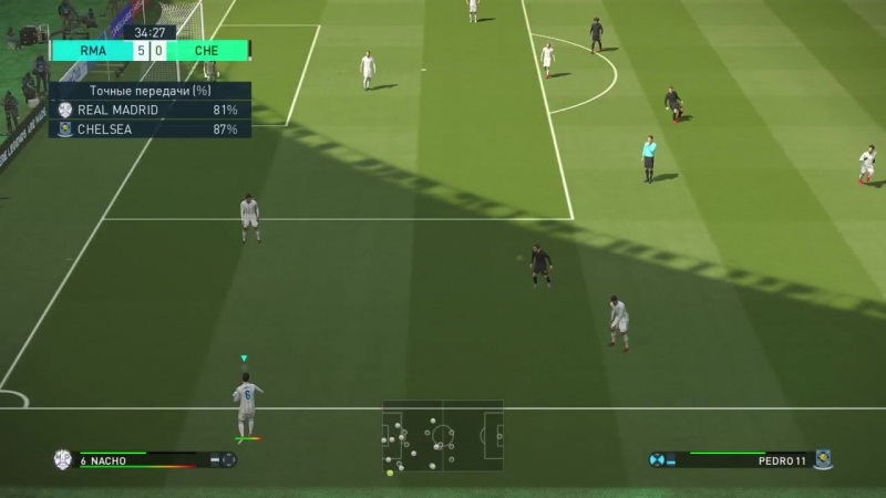 Real Madrid C.F (MD White) 8-3 (London FC) Chelsea FC ⁄⁄ Professional ⁄⁄ PS4 Slim ⁄⁄ 720pHD