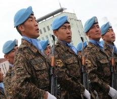 Монгольские десантники