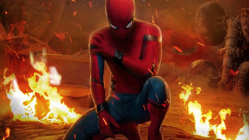 🎬Человек-паук: Возвращение домой (Spider-Man: Homecoming, 2017) HD