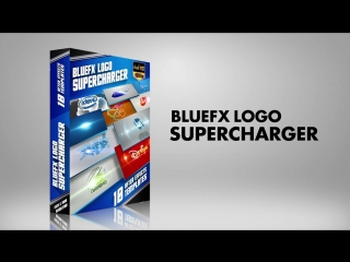 After Effects Template Logo Pack BlueFx Logo Supercharger