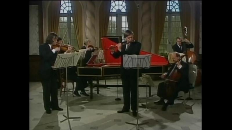 1050 J. S. Bach - Brandenburg Concerto in D Major N.5 -BWV 1050 - La Petite Bande - S. Kuijken