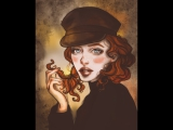DRAWING TIME LAPSE in Photoshop by scarlet heath