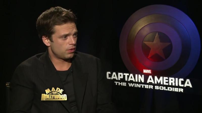 Интервью для MadeinHollywoodTV в рамках промоушена фильма «Первый мститель: Другая война»   2014