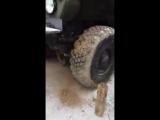 Как в армии колёса чистят