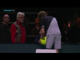Agony then ecstasy! Andrey Rublev makes a little boys day in Rotterdam