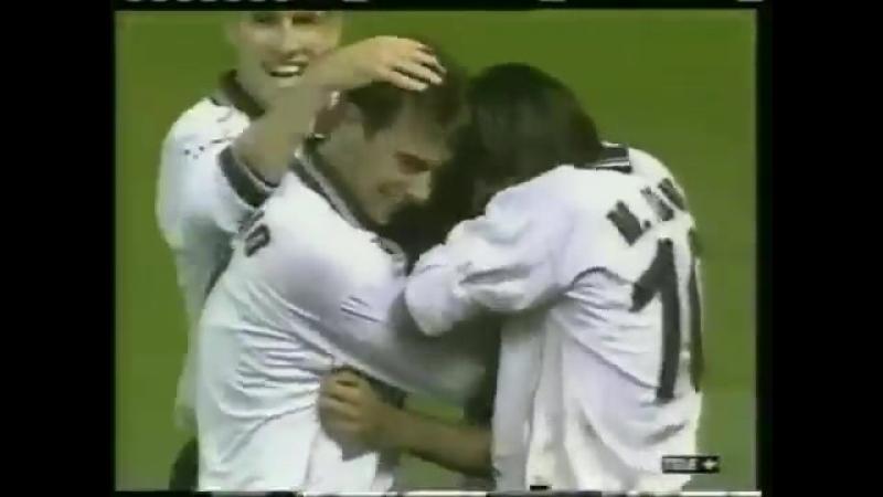 Гаиска Мендьета (Валенсия) - гол в ворота Рейнджерс, сезон 199900