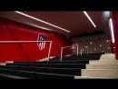 Подтрибунное помещение на стадионе «Ванда-Метрополитано» Атлетико Мадрид