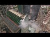 Пожарные провели учения в «Москва-Сити»