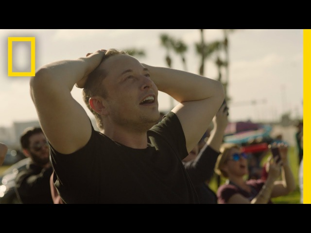 Behind the Scenes See How Elon Musk Celebrated the Falcon Heavy Launch National Geographic