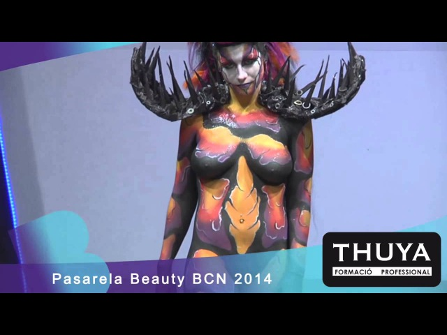 Maquillaje Corporal - THUYA Escuela - STS Beauty BCN 2014