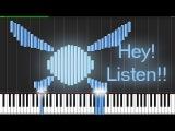 Zelda Medley (Ocarina of Time) Piano Tutorial (Synthesia) Piano Man