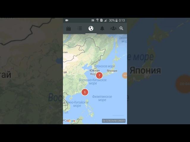 Северной Кореи нет на карте.