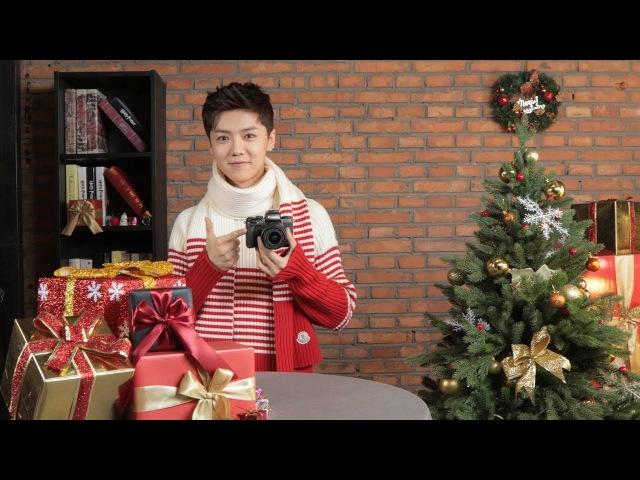 [ENG|1080P] 171215 鹿晗 LUHAN X 佳能 Canon EOS M Christmas Greetings