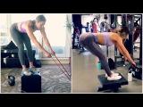 Домашняя тренировка ягодиц и задней части бедер. Whitney Simmons REMAKE // AT HOME GLUTE & HAMSTRING WORKOUT