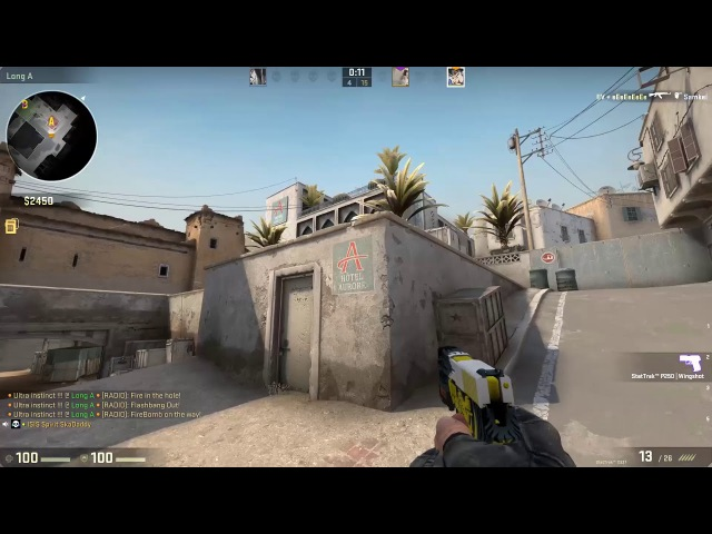 [CS:GO] unintended flick shot