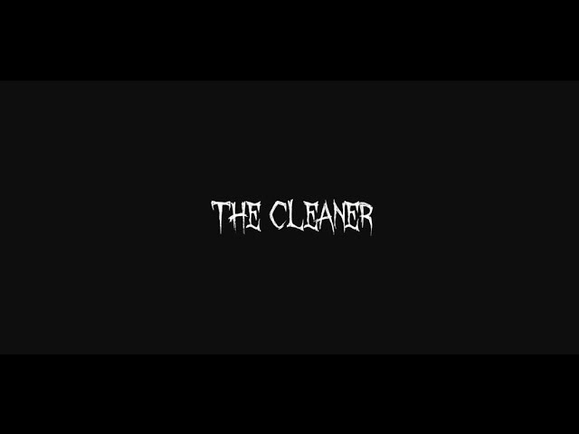 COLD BLOODED MURDER - THE CLEANER (OFFICIAL MUSIC VIDEO)