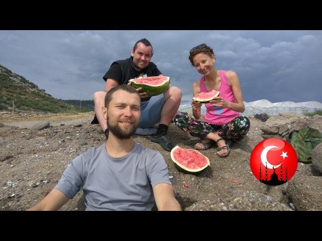 Средиземное Море и арбузы. Сыроедческий поход. Турция