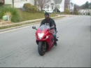 Tray and his stock 08 busa