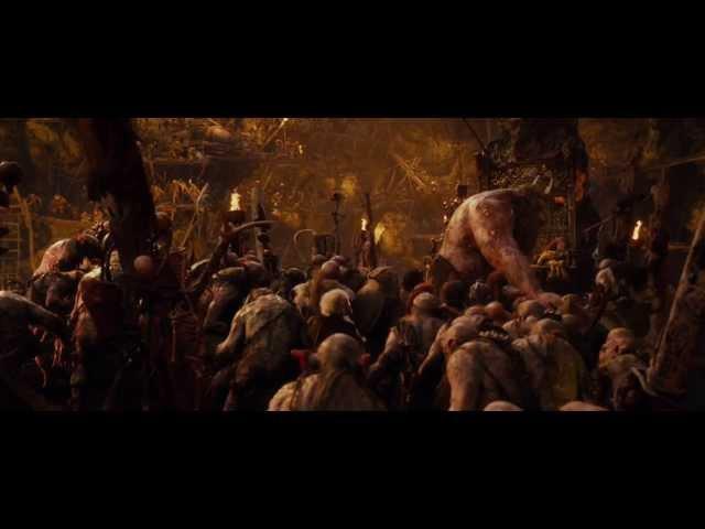 The Hobbit AUJ Extended Edition: Goblin Town scene